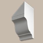 Fypon LLC - Dentil Block 11X4-3/4X5-1/2 Smooth
