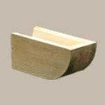 Fypon LLC - Rafter Tail Straight 3-1/4X3-1/4X24 Wood Grain