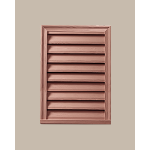 Fypon LLC - Rectangle Vertical Louver Deco 20X30X2 Wood Grain