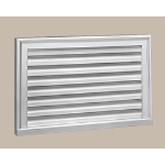 Fypon LLC - Louver Func Rect Horizontal 32X16X2 Smooth