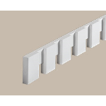 Fypon LLC - Moulding Dentil 7/8X3-1/2X96 Smooth