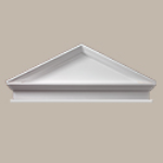 Fypon LLC - Pediment Combo Peaked W/bt 80X28-5/8X3-1/8 Smooth