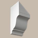 Fypon LLC - Dentil Block 10-15/16X4-3/4X5-1/2 Smooth