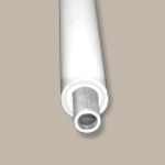 Fypon LLC - Grab Rail 104 in Handrail W/alum Insert