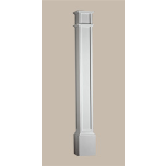 Fypon LLC - Column Square Plain 8X8X96 Smooth