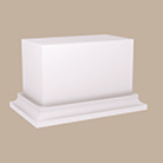 Fypon LLC - Baluster Rail Support Block 6-3/4X4X4-1/4 Smooth