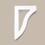 Fypon LLC - Bracket 11X17X2-7/8 Smooth
