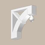 Fypon LLC - Bracket 24X24X5 Smooth