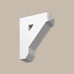 Fypon LLC - Bracket 9X11X3-1/2 Smooth