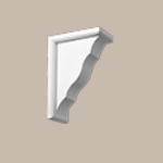 Fypon LLC - Bracket 9X13X3 Smooth