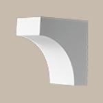 Fypon LLC - Dentil Block 5-1/2X3-1/2X5-1/2 Smooth