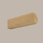 Fypon LLC - Rafter Tail Bullnose 4X7-3/4X30 Wood Grain