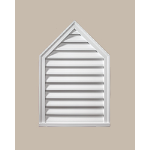 Fypon LLC - Peaked Louver Deco 36X18X2 Smooth