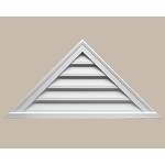 Fypon LLC - Louver Func Triangle 76X19X2 Smooth