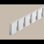 Fypon LLC - Moulding Dentil 7/8X3-1/2X96 Smooth