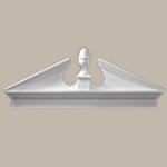 Fypon LLC - Pediment Combo Acorn W/bt 85X28-3/8X3-1/8 Smooth