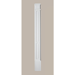 Fypon LLC - Pilaster Double Panel Mld Plth 100X9X3 Smooth