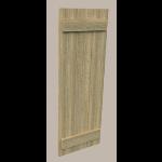 Fypon LLC - Shutter 3 Board and End Batten18X67X1-1/2 Rough Sawn Wood Gr