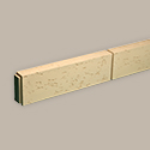 Fypon LLC - Trim Flat Block 9-15/16X96X3-7/8 Stone