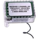 Wikk Industries, Inc. - 1 Channel Receiver 433