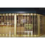 Overhead Door Corporation - Side Folding Full Enclosure Security Grilles 675