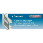 "Tubelite Inc. - ForceFront Blast™ 2-1/2"" Curtainwall"