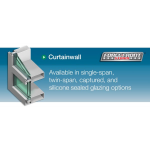 """Tubelite Inc. - ForceFront Storm™ 2-1/2"""" Curtainwall"""