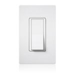Lutron Electronics Co., Inc. - Claro / Satin Colors Switch with Locator Light - Designer Style - CA3PSNL