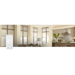 Lutron Electronics Co., Inc. - Serena® Remote Controlled Shades - Serena - CSPS-P1-1-6-WH