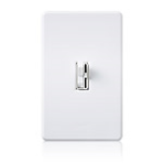 Lutron Electronics Co., Inc. - Preset Dimmer with Locator Light - Traditional Style - AY‑103PNL