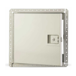 Karp Associates, Inc. - KRP-450FR - Fire Rated Access Door for Drywall, Walls Only