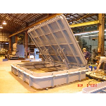 Walz & Krenzer, Inc. - Raised Watertight Hatch -WK Model WTH-R