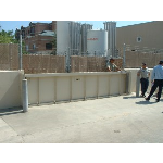Walz & Krenzer, Inc. - Sliding Flood Barriers WK Model FG-S