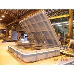 Walz & Krenzer, Inc. - Raised Watertight Hatch - WK Model WTH-R