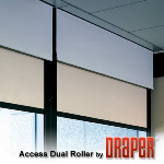 Draper, Inc. - Access Dual Roller FlexShade - Manual