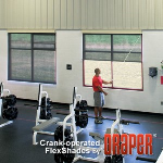 Draper, Inc. - Crank Operated FlexShade