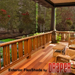 Draper, Inc. - Exterior FlexShade - Clutch Operated