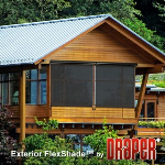 Draper, Inc. - Exterior FlexShade - Crank Operated