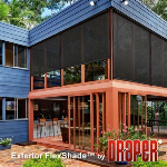 Draper, Inc. - Exterior FlexShade - Motorized