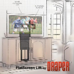 Draper, Inc. - FlatScreen Lift