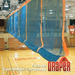 Draper, Inc. - Fold-Up Gym Dividers