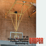 Draper, Inc. - Forward Folding Basketball Backstops