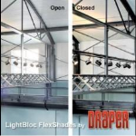 Draper, Inc. - LightBloc Motorized FlexShade