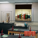 Draper, Inc. - Luma 2 with AutoReturn Projection Screen