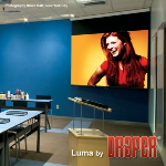 Draper, Inc. - Luma with AutoReturn Projection Screen