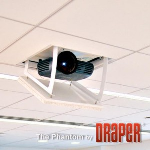 Draper, Inc. - Phantom Recessed Projector Lift