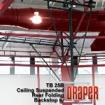 Draper, Inc. - Rear Folding Basketball Backstops
