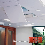 Draper, Inc. - Revelation Recessed Projection System