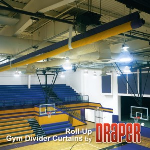 Draper, Inc. - Roll-Up Gym Dividers