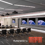 Draper, Inc. - Rolleramic Electric Projection Screen